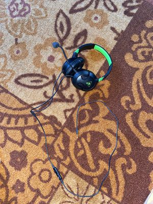 Turtle Beach Gaming Headset ~ Xbox One for Sale in Vista, CA
