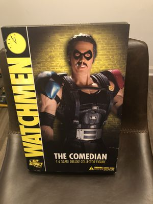 DC Direct 1:6 Comedian Watchmen figure MIB for Sale in Alexandria, VA