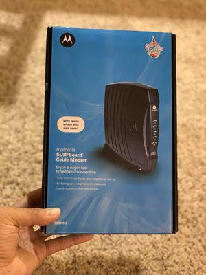 Motorola SURFboard Cable Modem SB5101U for Sale in Seattle, WA