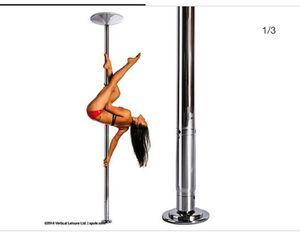 XPOLE X-pert 45mm NX Spinning Static Dance Exercise X Pole Set Chrome 2018 for Sale in Phoenix, AZ
