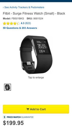 Fitbit surge for Sale in Boston, MA
