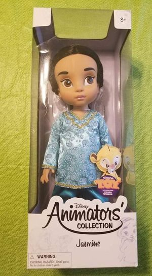 Disney Animator's Collection Jasmine 1ST Edition with Sticker for Sale in Denver, CO