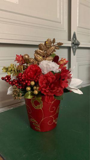 Christmas floral arrangement for Sale in Waddell, AZ