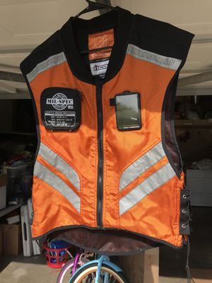 Motorcycle safety vest for Sale in Joint Base Andrews, MD