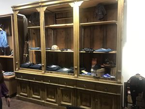 General store display cabinet antique for Sale in University City, MO
