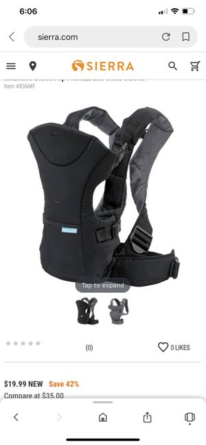 Baby carrier for Sale in Pasadena, TX