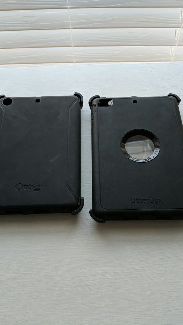 *TWO* iPad mini 2nd or 3rd gen OtterBox cases - like new!