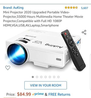 Auking Projector for Sale in Sunnyvale, CA