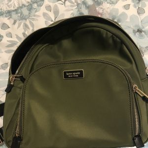 Kate Spade Green backpack for Sale in Wakefield, MA