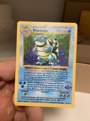 Shadowless Blastoise Pokemon Card for Sale in Issaquah, WA