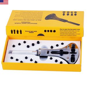 Watch back case opener wrench screw remover repair tool kit for 18 to 60mm case for Sale in Framingham, MA