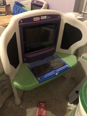 Desk for kids little tikes for Sale in Berwyn, IL
