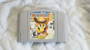 Mario Party 2 N64 for Sale in Los Angeles, CA