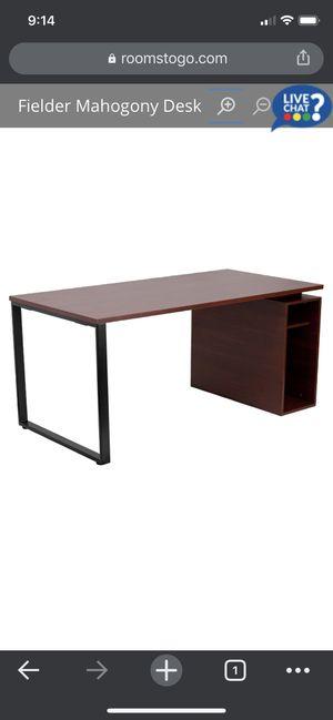 Fielder mahogany desk for Sale in Pompano Beach, FL