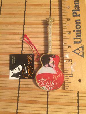 Elvis guitar memorabilia Xmas ornament for Sale in Nashville, TN
