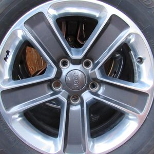 Jeep Stock Wheel Set (5) OBO for Sale in Aurora, CO