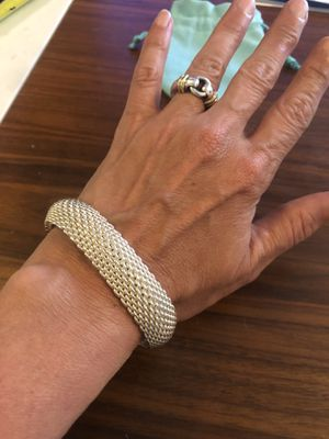 Authentic Tiffany & Co Somerset bracelet for Sale in Denver, CO