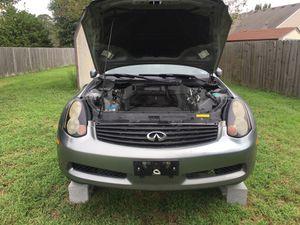 Infiniti G 35 engine plus parts for Sale in Chesapeake, VA