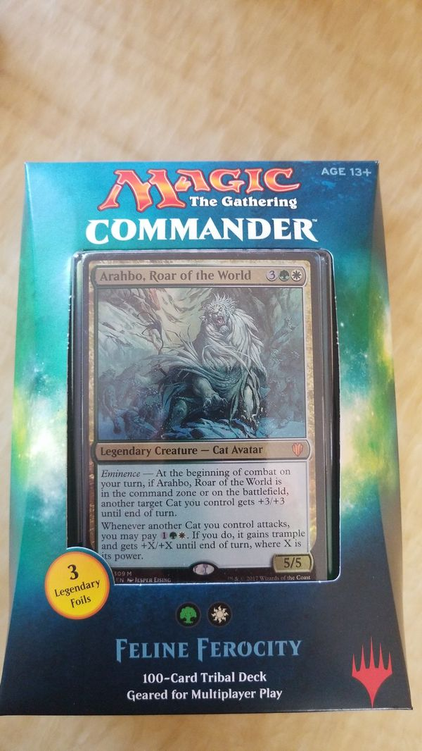 Magic the Gathering: Commander 2017 sets for Sale in Westminster, CA -  OfferUp