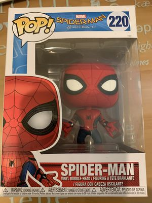 Marvel Spider-Man Home Coming: Spider-Man Funko POP Vinyl Figure for Sale in South El Monte, CA