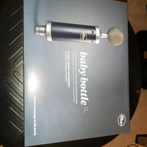 Blue Baby Bottle Mic. for Sale in Coppell, TX