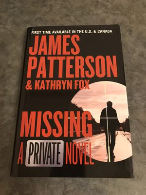 Missing A Private Novel by James Patterson Hardcover Book for Sale in Metamora, OH