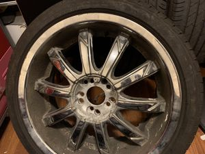 18inch Chrome rims for Sale in Queens, NY