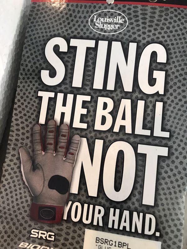 Baseball batting gloves - Louisville slugger SRG - size L