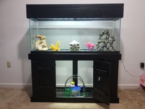 55 Gallon Tank With Stand for Sale in Lorton, VA