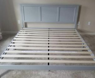New In A Box King Size Farm Style Platform Bed Frame for Sale in Columbus,  OH