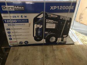 Duramax Generator XP 12000E new in theBox $750 for Sale in Gardendale, AL