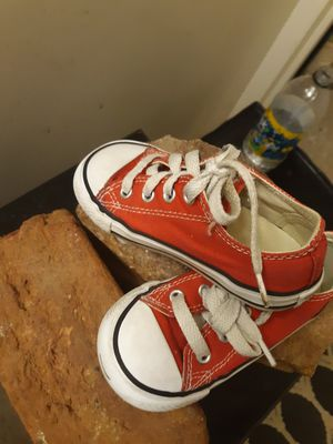 Childs red converse for Sale in Knoxville, TN