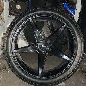 Velgan Wheels 5x5 Bolt Pattern 22x10 for Sale in Denver, CO