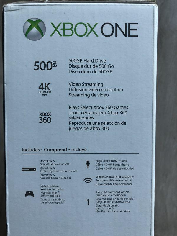 Seattle1 Microsoft W: Microsoft Xbox One S 500GB Complete Bundle Controller Mic