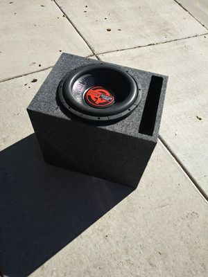 Quantum audio 3000w speaker and box. for Sale in Phoenix, AZ