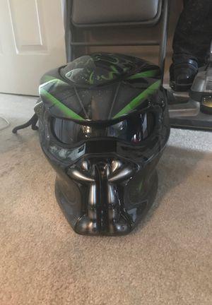 Predator motorcycle helmet for Sale in Ashburn, VA