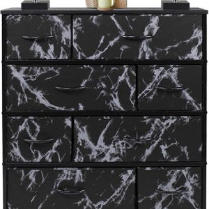 Dresser with 8 Drawers - Furniture Storage Chest Tower Unit for Bedroom, Hallway, Closet, Office Organization - Steel Frame, Wood Top, Easy Pull Fabri for Sale in Tempe, AZ