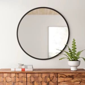 "Umbra Hub Wall Mirror with Rubber Frame - 37"" for Sale in Chicago, IL"