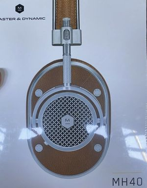 Master & Dynamic MH40 Over-Ear Headphones - Tan Leather for Sale in Los Angeles, CA
