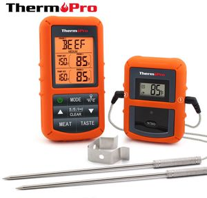 New ThermoPro TP20 Wireless Remote Digital Cooking Food Meat Thermometer with Dual Probe for Smoker Grill BBQ Thermometer for Sale in Chino, CA