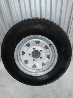 2-Trailer Tire Tires With Galvanized Rims #ST175/80/D13 Great Condition Barely Used! Selling as a Pair! for Sale in Plantation, FL