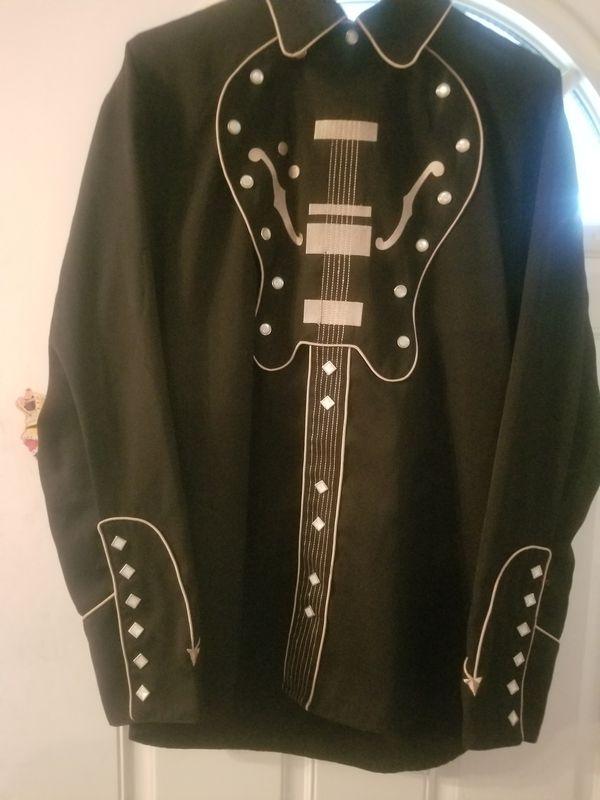 Men's western shirt