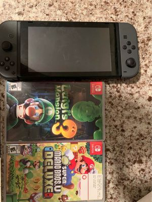 Nintendo Switch with 2 games for Sale in New York, NY