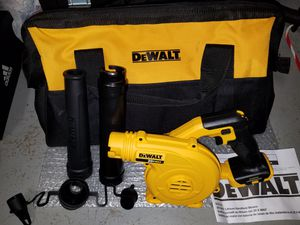 New Dewalt 20v MAX leaf blower with large contractors case for Sale in Ashburn, VA