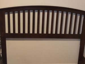 Queen wood bed frame for Sale in Everett, MA