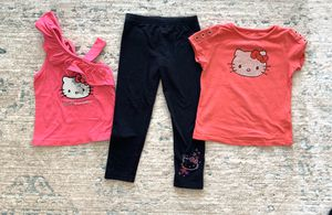 Toddler 12 piece bundle hello kitty & more 3T for Sale in Phoenix, AZ