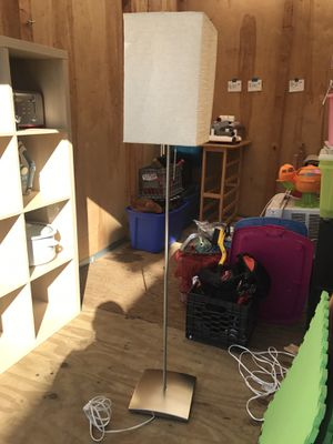 IKEA paper shade floor lamp for Sale in Boston, MA