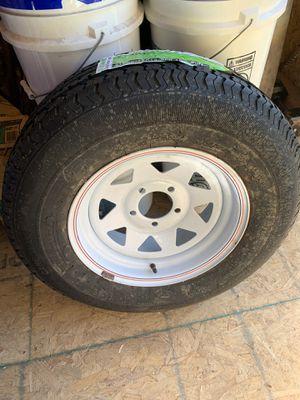 RV tire nueva/new (one) (una) for Sale in McAllen, TX