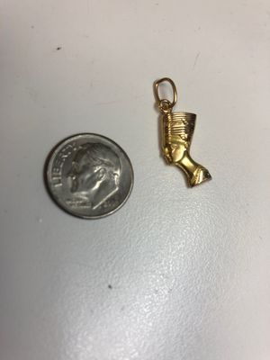 18k Cleopatra charm for Sale in San Diego, CA