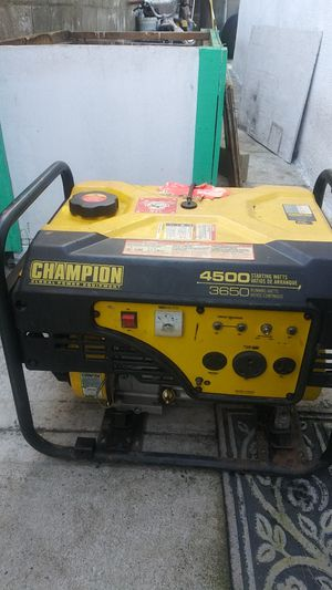 Champion global Generator 4500 watts for Sale in Spring Valley, CA